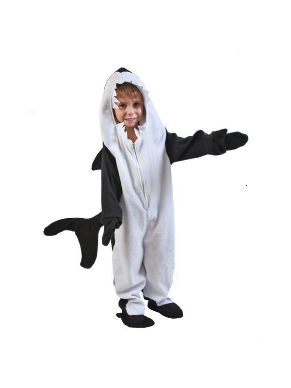 Toddler Killer Whale Costume-COSTUMEISH