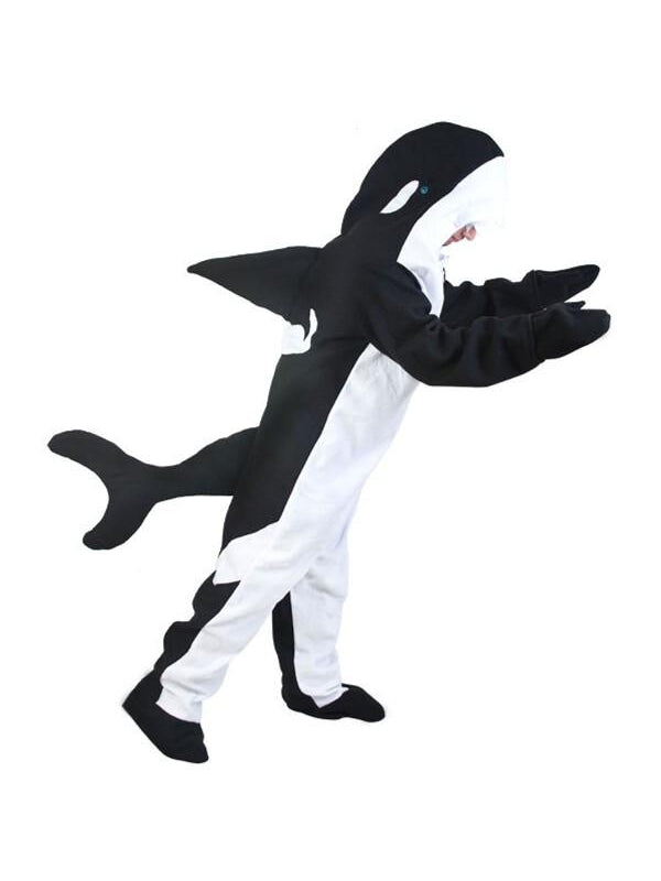 Adult Killer Whale Costume-COSTUMEISH