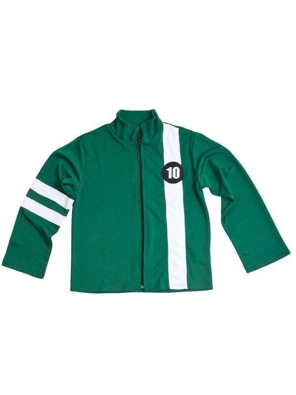 Child Green Ben 10 Jacket-COSTUMEISH