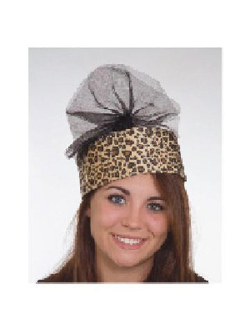 English Princess Leopard Hat-COSTUMEISH