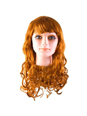 Adult Auburn Starlet Wig-COSTUMEISH