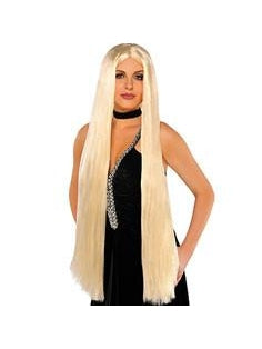 Long Brown Wig-COSTUMEISH