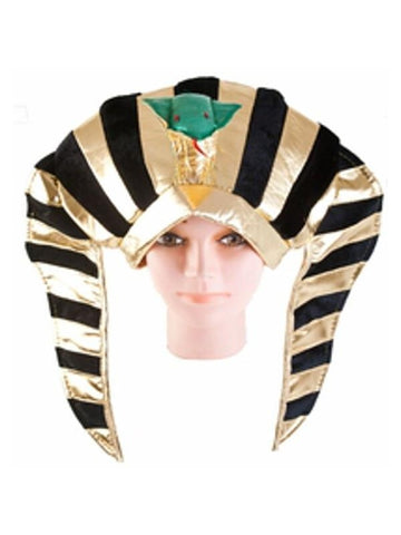 Egyptian Queen Hat with Snake