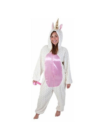 Adult White Unicorn Costume