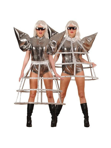 Adult Spacey Pop Singer Theater Costume