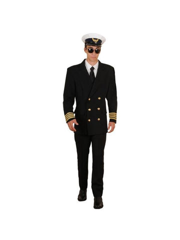 Adult Pan Am Pilot Theater Costume