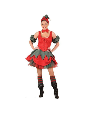 Adult Sexy Elf Theater Costume