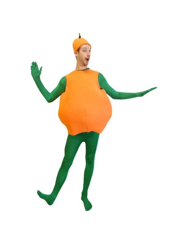 Adult Orange Costume-COSTUMEISH
