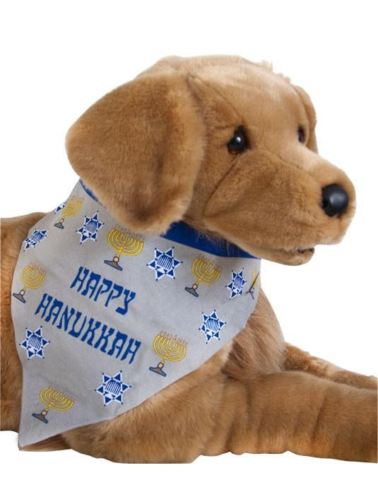 Happy Channuka Doggie Bandanna-COSTUMEISH
