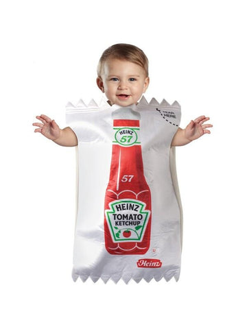 Infant Ketchup Packet Costume-COSTUMEISH