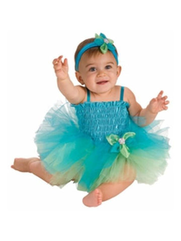 Baby Blue & Green Tutu Costume-COSTUMEISH
