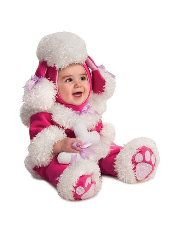 Pink poodle costume 6 12 months