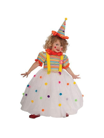 Toddler Candy Clown Costume