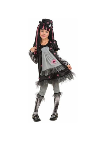 Child Gothic Raggedy Doll Costume-COSTUMEISH