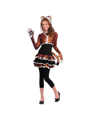 Pre-Teen Tiger Costume-COSTUMEISH