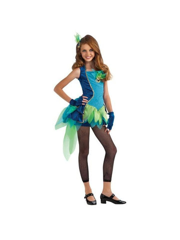 Pre-Teen Peacock Costume-COSTUMEISH
