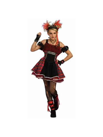 Teen Ballerina Punk Costume