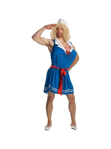 Adult Cross Dressing Sailor Costume