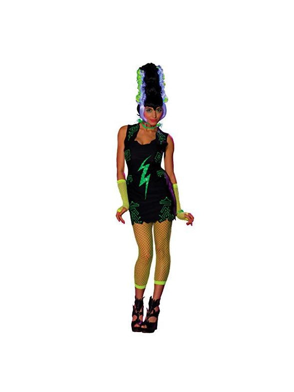 Women's Raver Franken-Bride Costume-COSTUMEISH