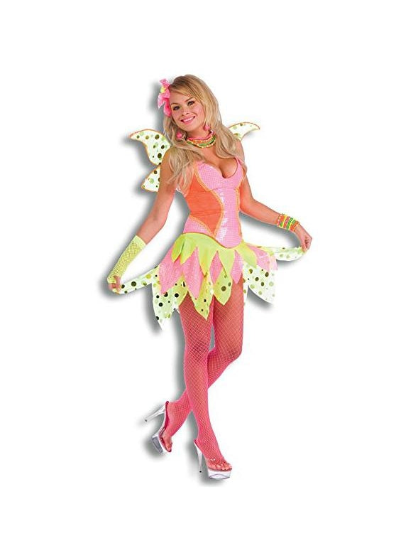 Adult Rave Pixie Costume-COSTUMEISH