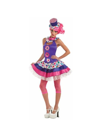 Adult Sexy Clown Girl Costume-COSTUMEISH