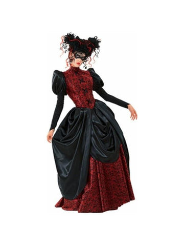 Adult Masquerade Vampire Dress Costume
