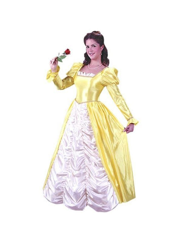 Adult Yellow Belle Dress-COSTUMEISH