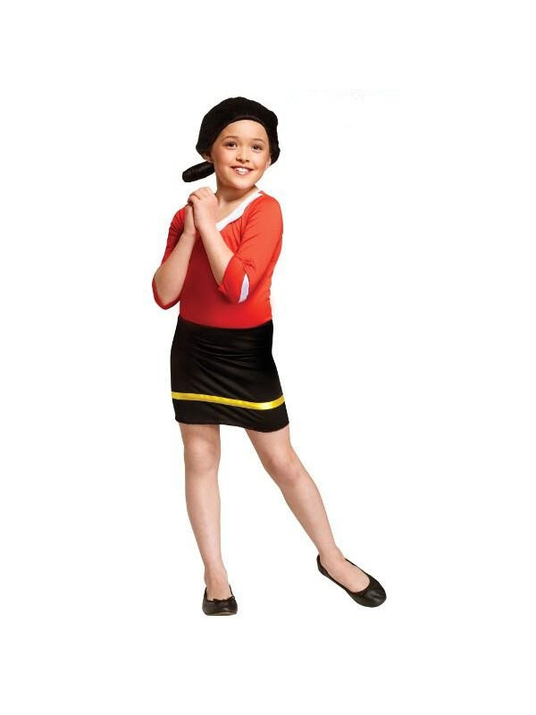 Childs Olive Oyl Popeye Costume-COSTUMEISH