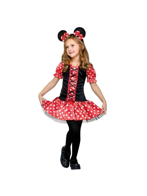 Childs Little Miss Mouse Costume-COSTUMEISH