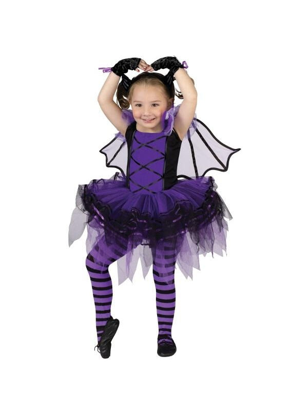 Toddler Bat Ballerina Costume-COSTUMEISH