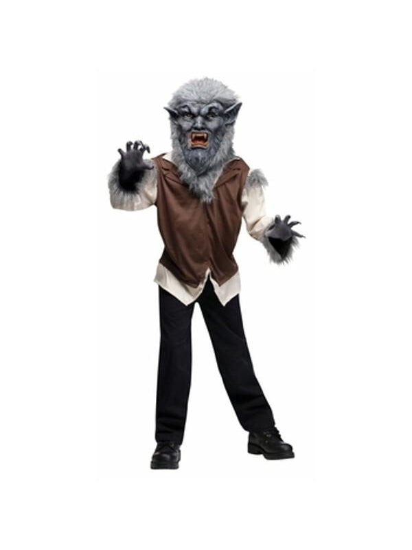 Childs Vicious Wolf Man Costume-COSTUMEISH