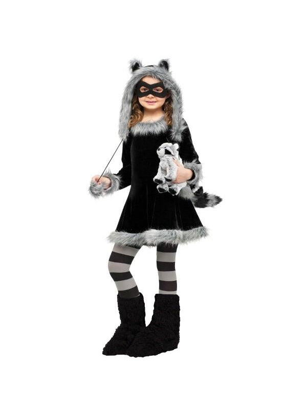Childs Sweet Little Raccoon Costume-COSTUMEISH