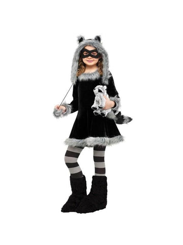 Childs Sweet Little Raccoon Costume