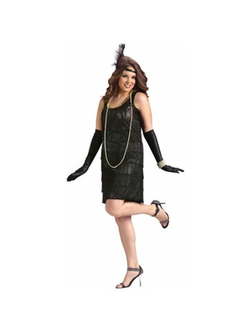 Adult Plus Size Flapper Costume
