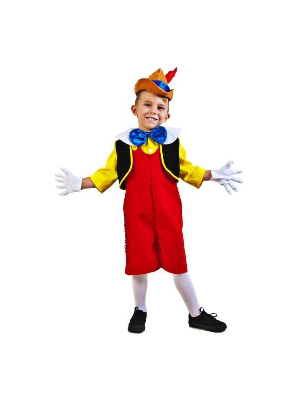 Child Pinocchio Costume-COSTUMEISH