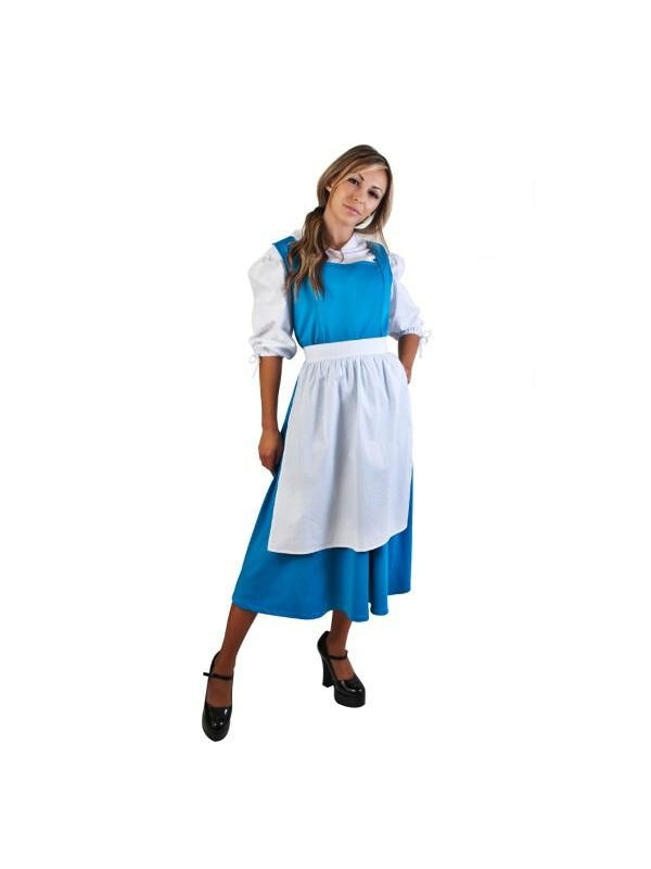 Adult Blue Belle Costume-COSTUMEISH