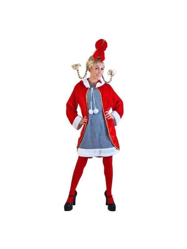 Adult Cindy Lou Costume-COSTUMEISH