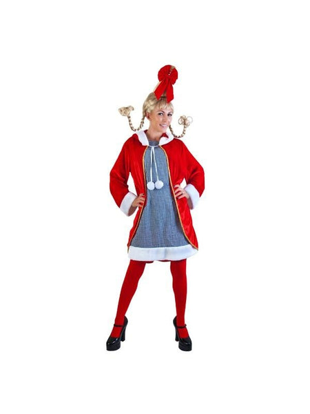 Adult Cindy Lou Costume | Costumeish – Cheap Adult ...