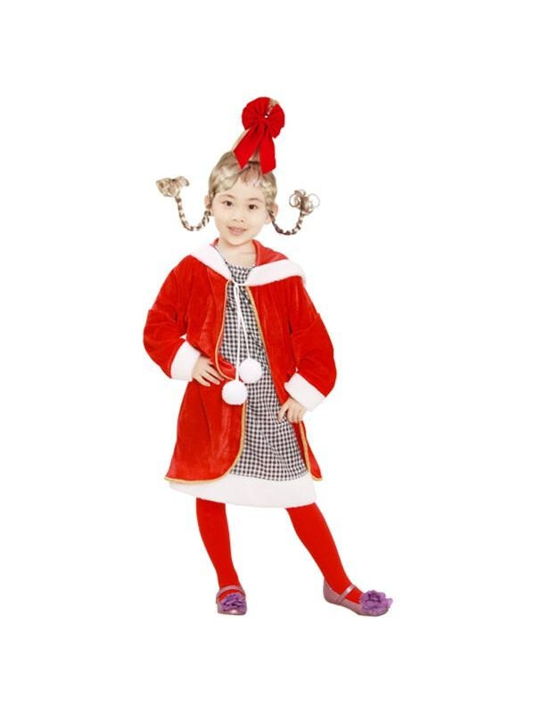 Child Cindy Lou Costume-COSTUMEISH