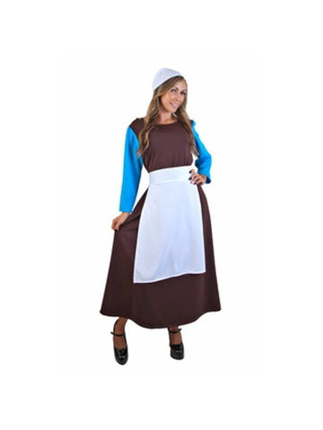 Adult Cinderella Peasant Gown Costume-COSTUMEISH