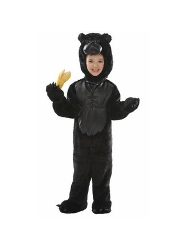 Toddler Gorilla Costume-COSTUMEISH