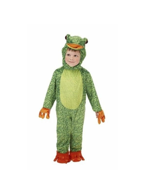 Toddler Pond Frog Costume-COSTUMEISH