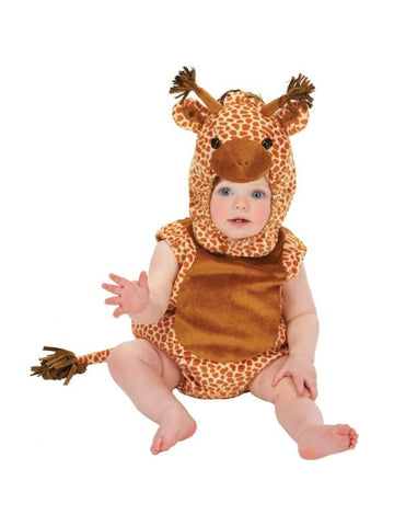 Infant Giraffe Romper Costume-COSTUMEISH