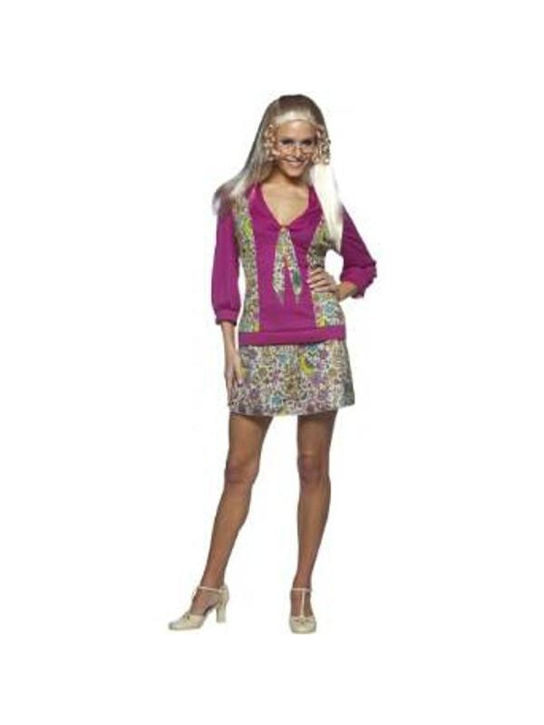 Adult Jan Brady Costume-COSTUMEISH