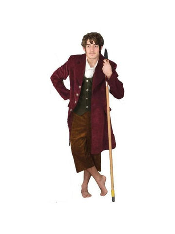 Adult Brown & Red Hobbit Theater Costume