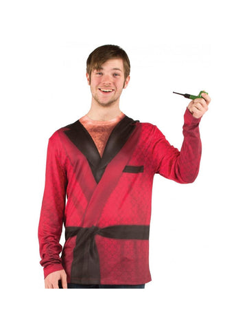 Adult Smoking Jacket T-Shirt
