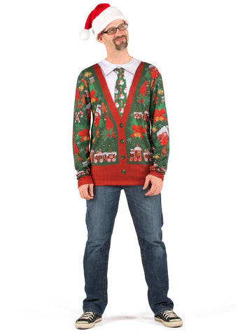 Adult Ugly X-Mas Cardigan-COSTUMEISH
