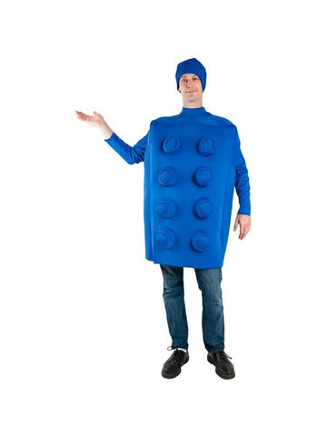 Adult Building Block Costume-COSTUMEISH
