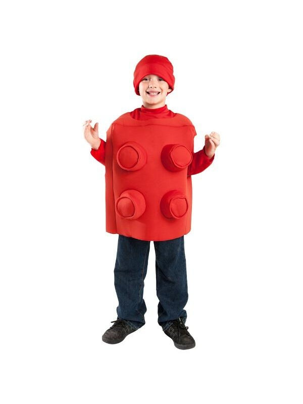 Child Brick Blocks Costume-COSTUMEISH