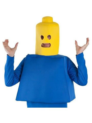 Adult Building Block Man Costume-COSTUMEISH